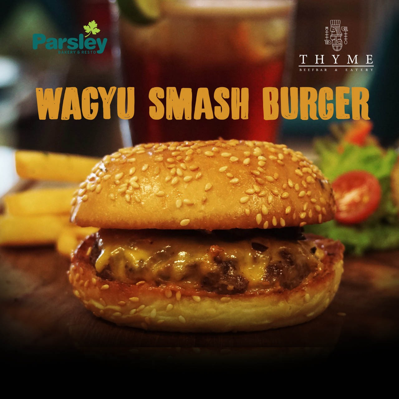 WAGYU SMASH BURGER