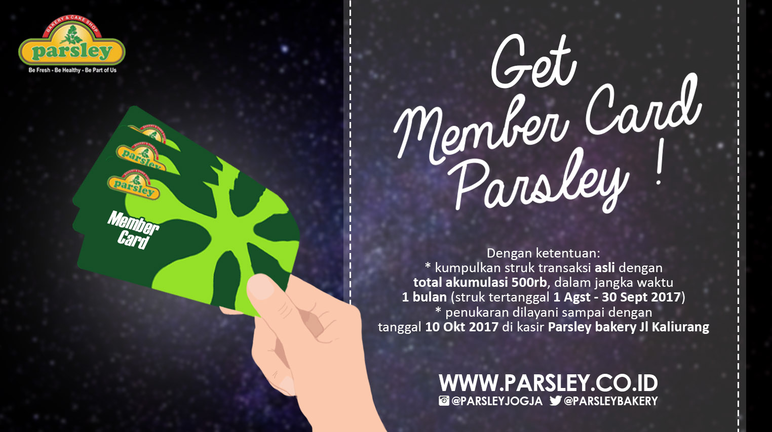 Get Member Card Parsley