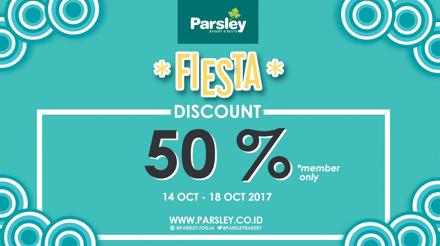 FIESTA - Get Discount 50%