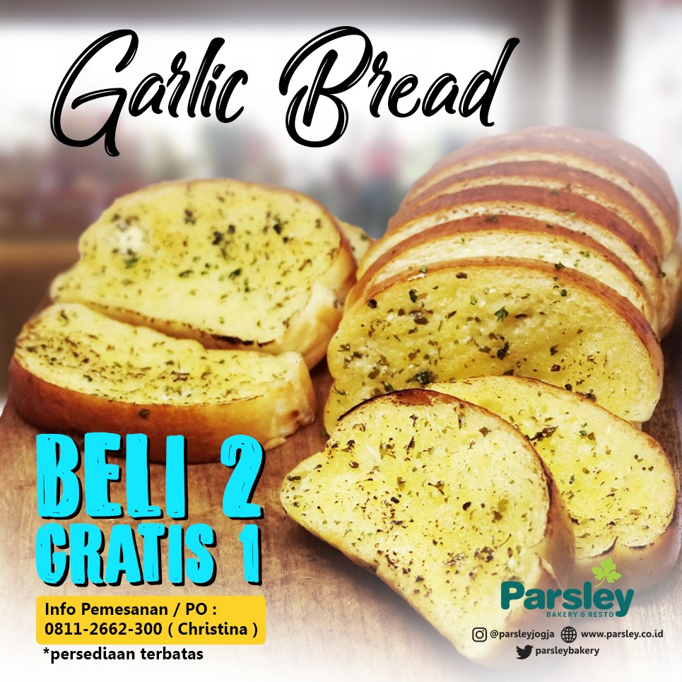 Garlic Bread: Beli 2 Gratis 1