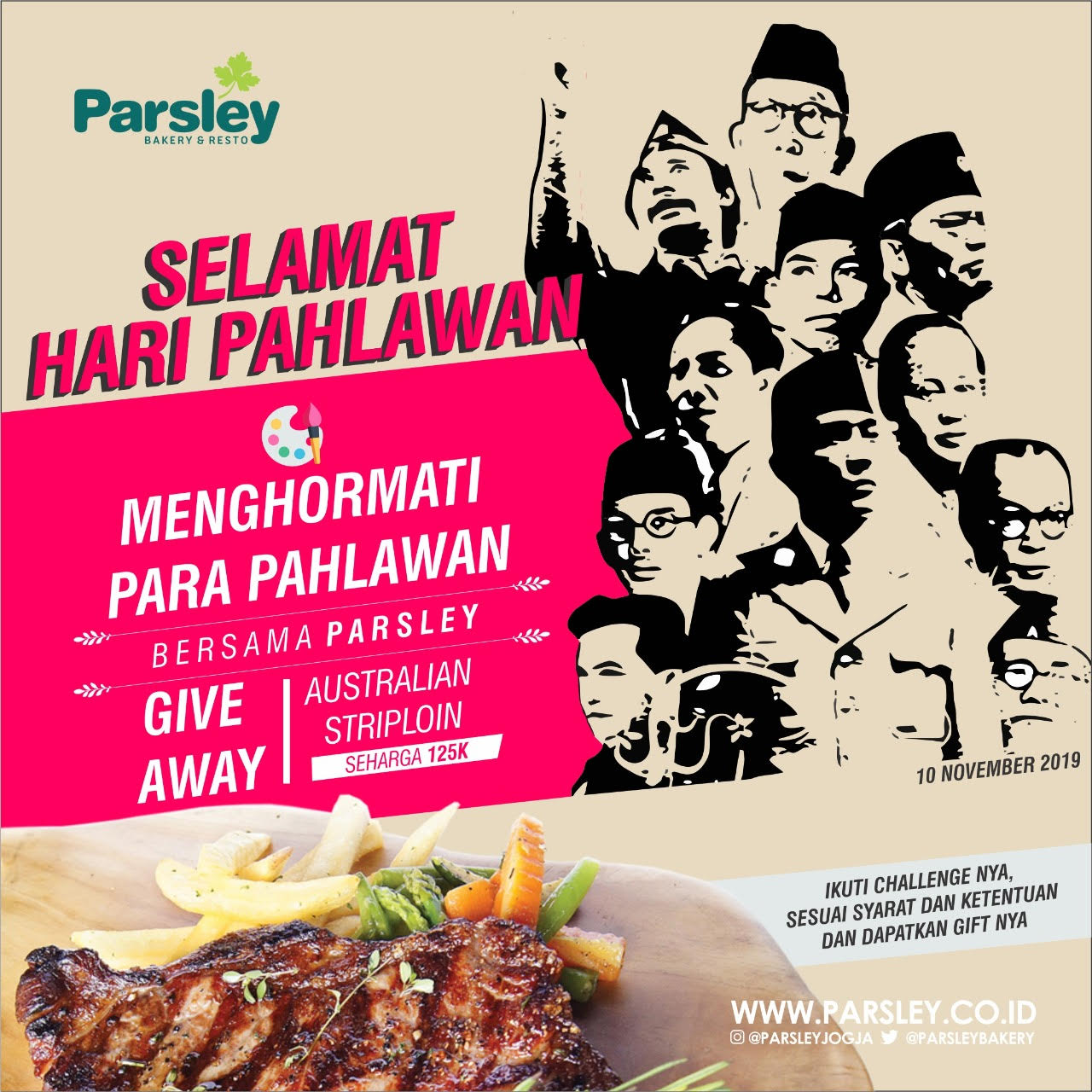 Give Away Hari Pahlawan