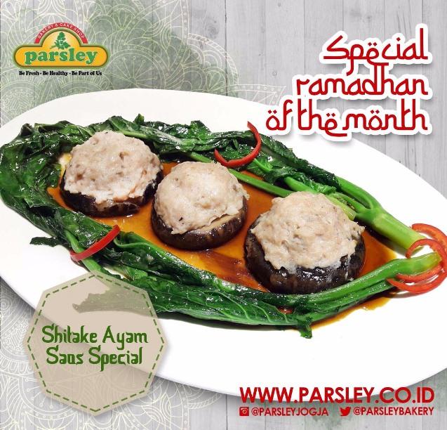 Shitake Ayam Saus Special