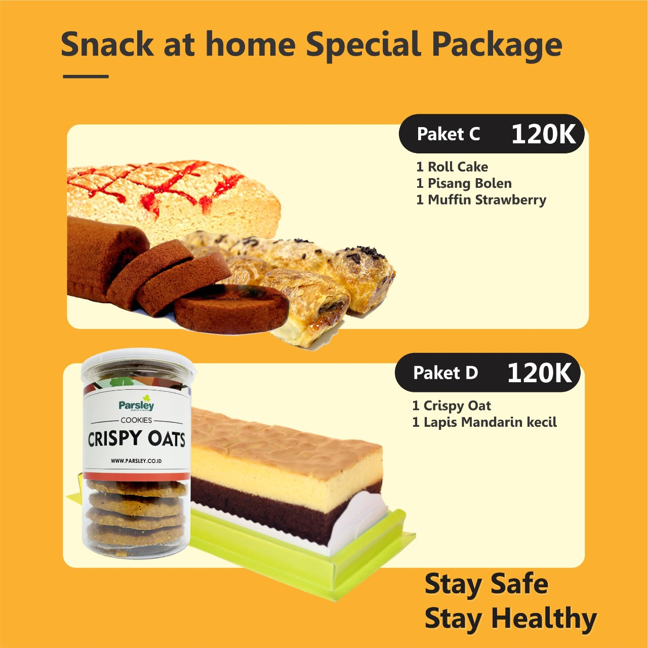 Snack at Home Special Package (C & D)