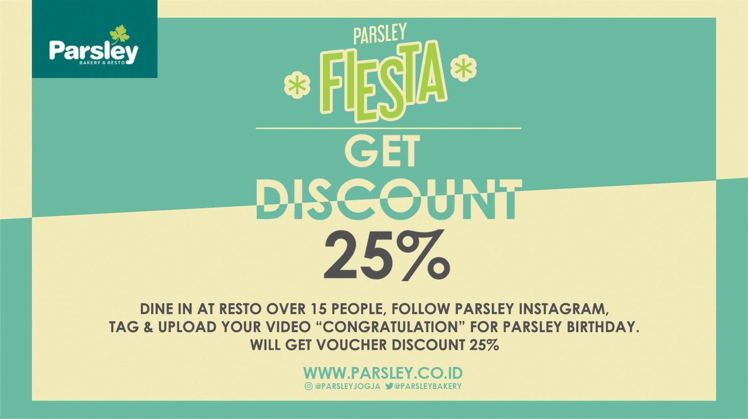 FIESTA - Get Discount 25%