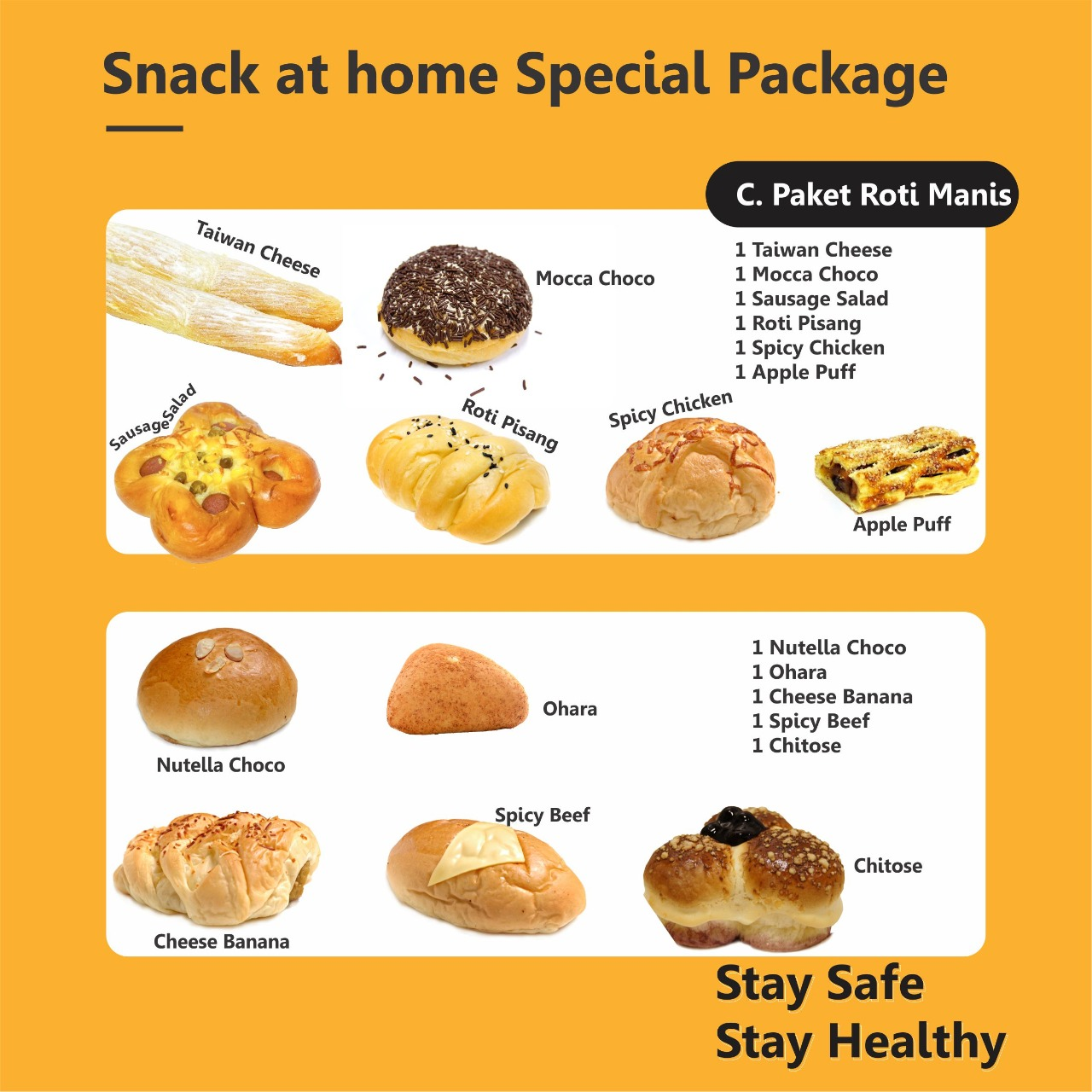 Snack at Home Special Package