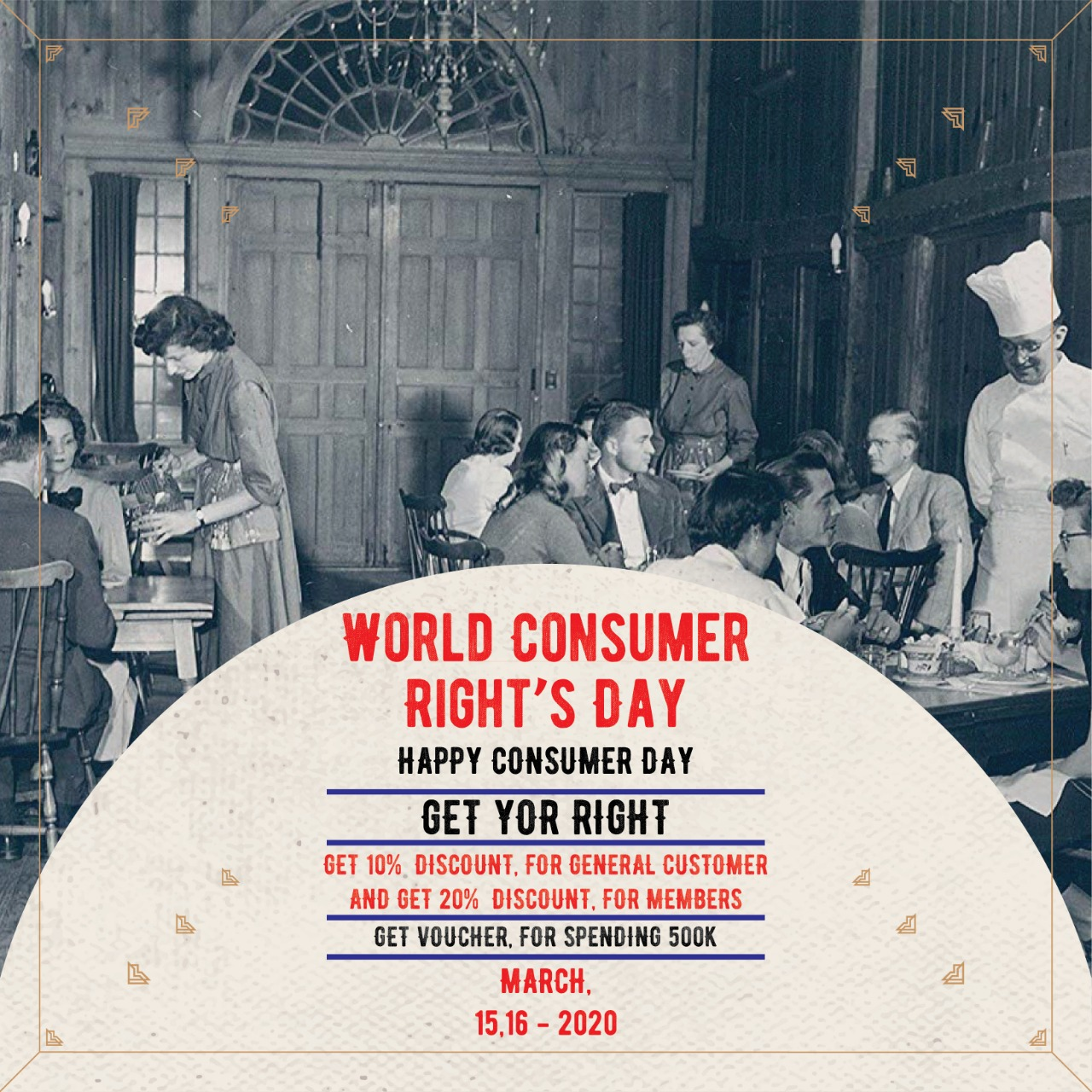 World Consumer Right's Day at Thyme