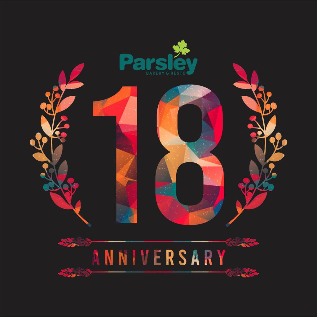 HUT Parsley ke-18