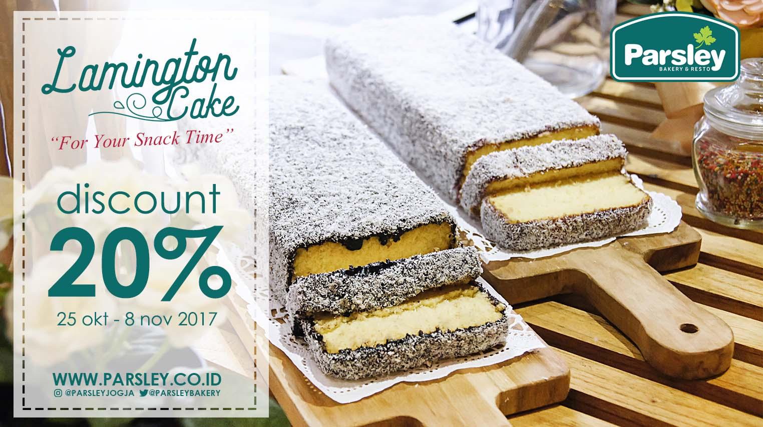 Promo Lamington Cake