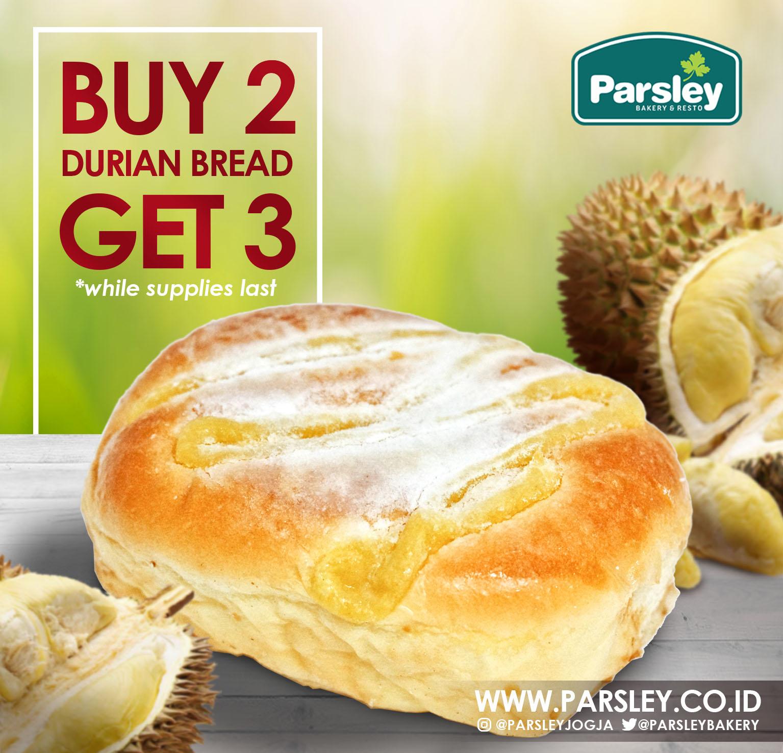 Promo  Durian Bread