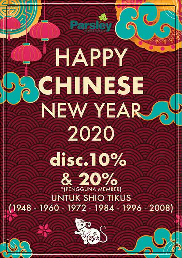 Promo Chinese New Year 2020 At Parsley