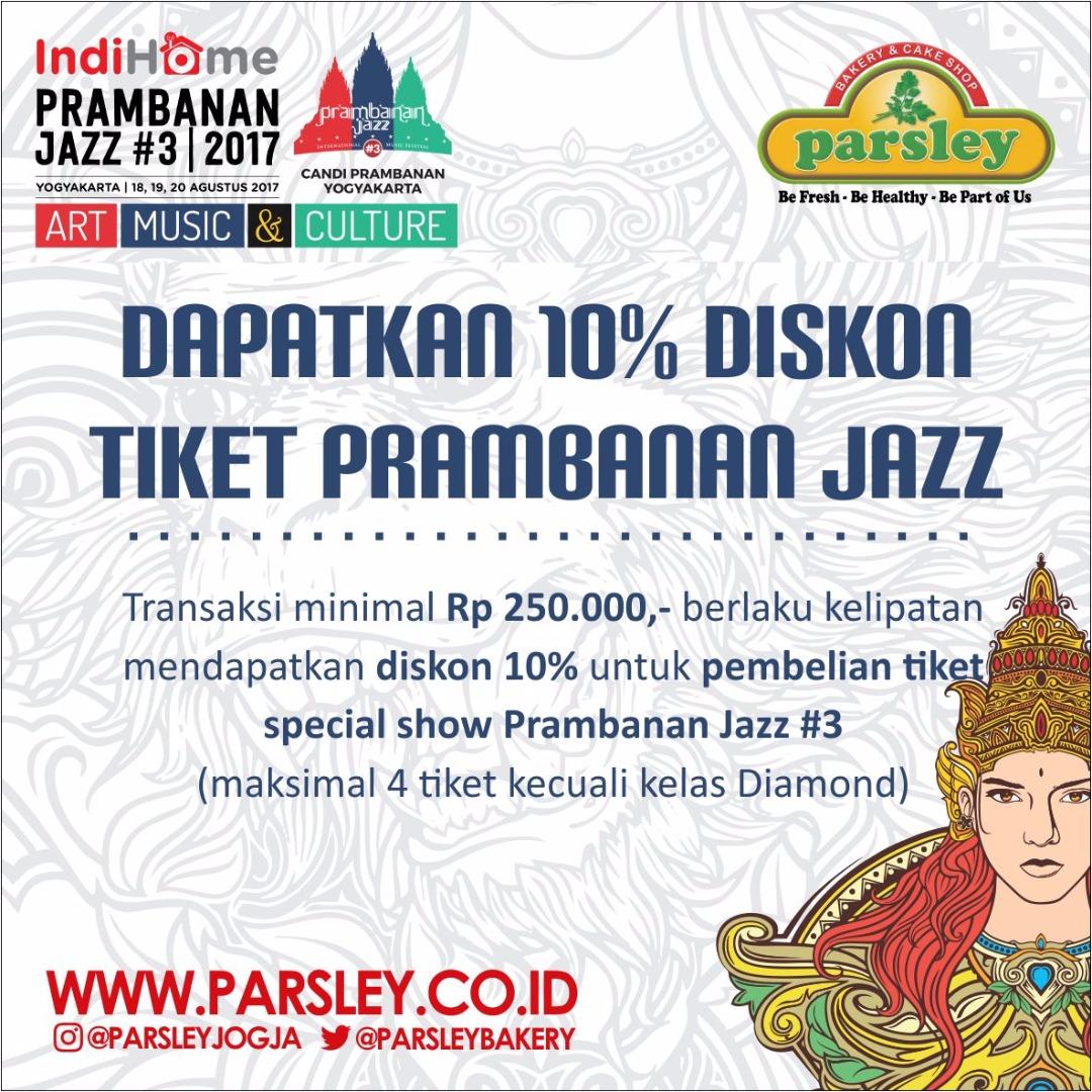 Diskon Tiket Prambanan Jazz