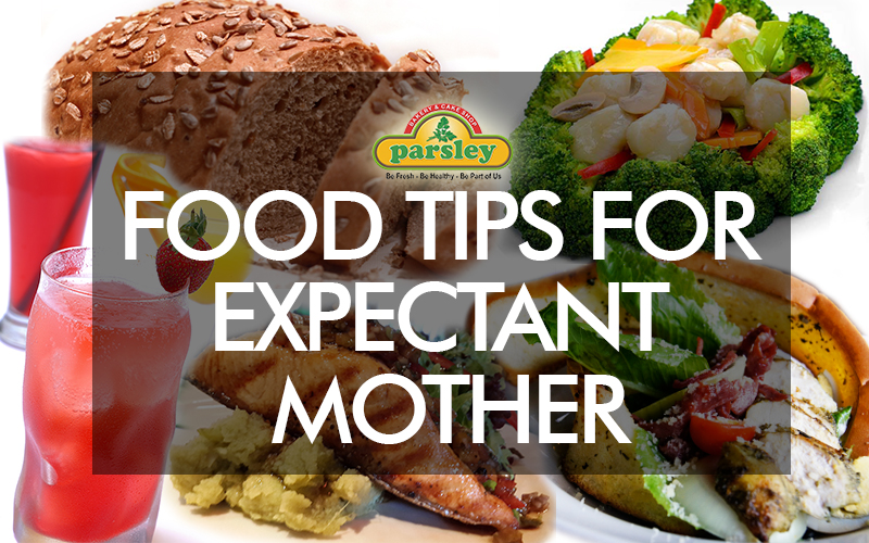 TIPS MENU FOR EXPECTANT MOTHER