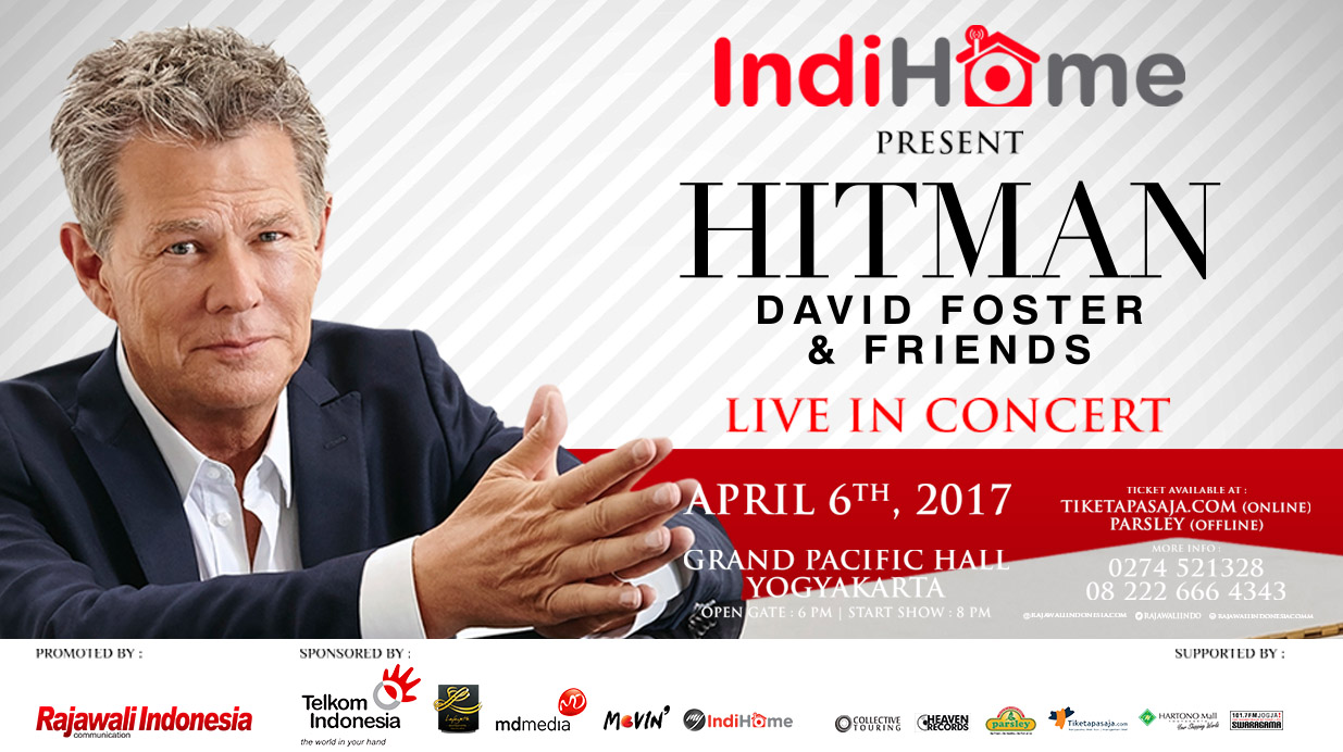 HITMAN DAVID FOSTER & FRIENDS LIVE IN CONCERT