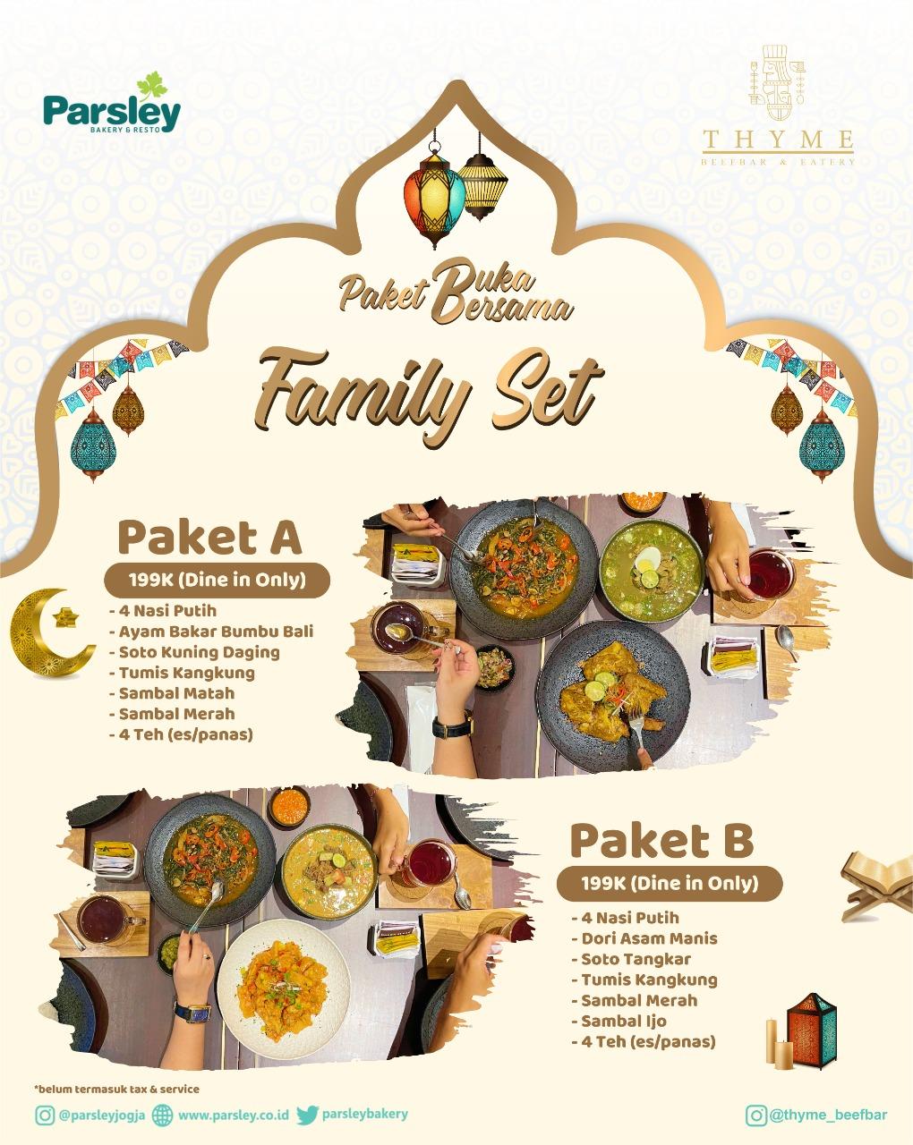 Paket Buka Bersama ( Family Set )